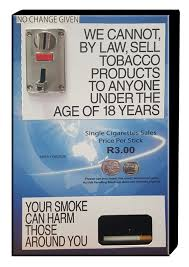 Single Cigarette Vending Machine Stunning SINGLE SLOTS Is An International Company Based In Jhb And London