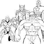 Superheroes Coloring Pages Printables Marvel Comic Free Printable