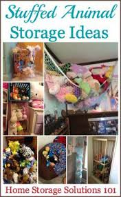 Storage For Stuffed Animals: Ideas That Work!