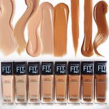 Maybelline Skin Tone Chart 84 Best Fit Me Foundation Shades For Makuep Kit Images
