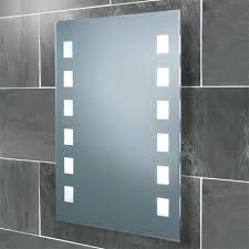 bathroom mirrors with lights. HiB Halifax Back-lit Bathroom Mirror Mirrors With Lights