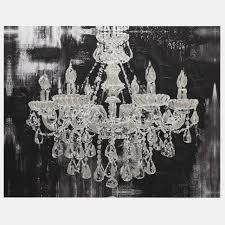 chandelier print canvas wall art by ruby and b super tech chandelier wall canvas