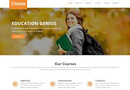 Templates For Education 18 Best Free Education Html Website Templates 2019