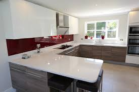 Red And Grey Kitchen Designs Grey And White Kitchen With Red Accents 16245020170516 Ponyiex