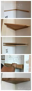 Easy To Install Floating Shelves When Life Gives You LemonsMake Corner Floating Shelves 80