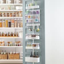 elfa utility White Mesh Pantry Door & Wall Rack  &  Space Design ...