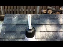 plumbing roof vent. How To Install A Rain Collar On Plumbing Roof Vent L