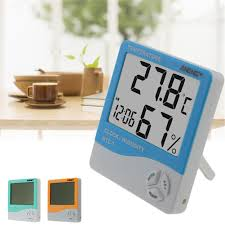 ANENG <b>Indoor Room LCD</b> Electronic Temperature Humidity Meter ...