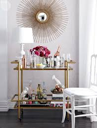 Furniture: Styling Bar Cart For Your Party Ideas - Bar Cart Ideas