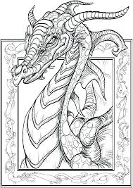 Dragon Color Sheets Coloring Scary Dragon Coloring Pages Realistic