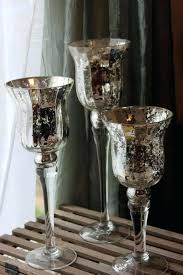 glass pedestal candle holder silver set of mercury glass pedestal vases holders free votive candle glass pedestal candle holder