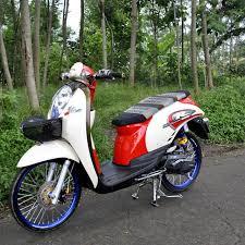 contoh modifikasi motor scoopy ala ala thailook style d otomotif edisikantongpelajar d