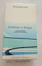 Ermenegildo <b>Zegna Essenza Di Zegna Acqua</b> D'Estate Summer ...