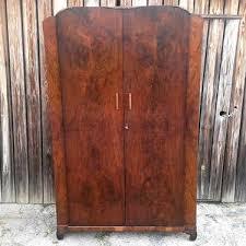 vintage antique furniture wardrobe walnut armoire. dc treasure vintage antique furniture wardrobe walnut armoire