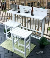 deck railing tables best balcony bar images on balcony bar balcony balcony railing table deck railing