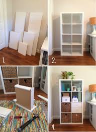 organizing your home office. Building \u0026 Organizing An Ikea Kallax Shelf For Your Home Office | Via StyleInSimplicity.com A