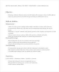 Catering Server Resume Enchanting 48 Server Resume Templates PDF DOC Free Premium Templates