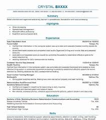 Data Entry Resume Laperlita Cozumel