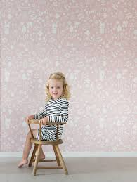 Little Dutch Behang Adventure Pink Villa Vrolijk