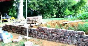 how much does it cost to build a retaining wall cost to install retaining wall how