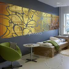 mirror wall art stickers