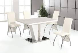 white dining table and chairs white high gloss dining table with 4 white faux leather chrome chairs white round dining table with grey chairs