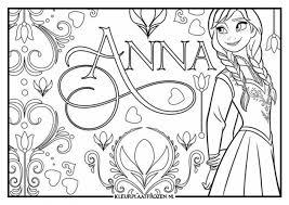 Kleurplaat Anna En Elsa Swen