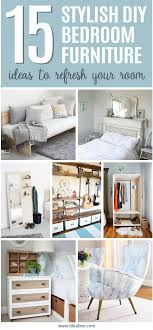 Diy bedroom furniture Bedroom Storage Weve Found 15 Of Our Favorite Stylish Diy Bedroom Furniture Ideas To Update And Ideal Me 15 Stylish Diy Bedroom Furniture Ideas To Update And Refresh Your