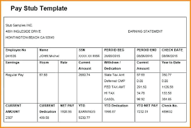 How To Create Pay Stubs In Excel Creating Pay Stub Template Free Pay