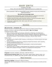 Resume Templates For Software Engineer Fresher Download