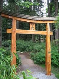 Small Picture Torii Archway Traditional japanese Laser cutting and Traditional