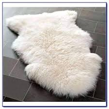 costco sheepskin rug skin lamb gray review