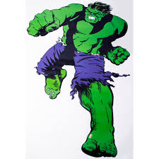 details about marvel marvel comics life size hulk wall sticker was 30