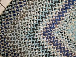 vintage handmade braided rugs rug for at 8