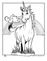 31 Unicorn Rainbow Coloring Pages Rainbow Unicorn Pictures Az