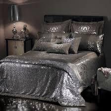 silver sparkle duvet cover