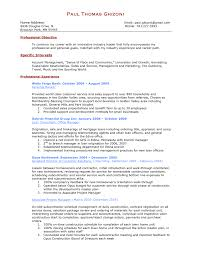 Curriculum Vitae Resume Template For Pharmacist Information Hr