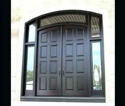 glass double front door. Front Double Doors With Glass Exterior Door Entry Custom Wood