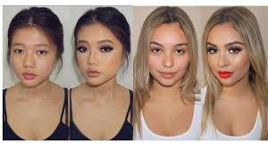 makeup transformation tutorials pilation for asian and western s power of makeup pilation