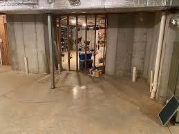 plumbing in unfinished basement