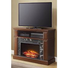 mainstays loring media fireplace for tvs up to 50 multiple finishes available com
