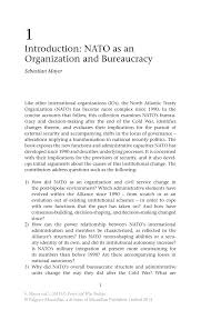 nato essay u s department of > photos > photo essays > essay view  introduction nato as an organization and bureaucracy springer nato s post cold war politics nato s