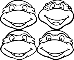 Coloring Pages Ninja Turtles