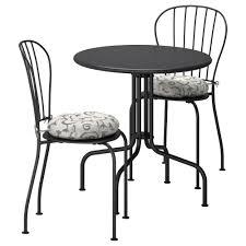 L Ck Table 2 Chairs Outdoor L Ck Gray Steg N Beige Ikea