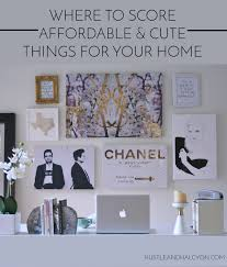 pin it where to find cute home decor hustle halcyon