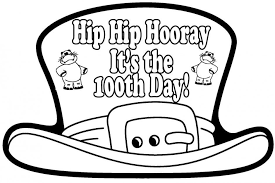 100th Day Coloring Pages 15903 | Nogmentedreality.com
