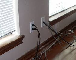 how to in wall wiring for your home theater some people like to use covers banana connectors but i prefer to take the wire directly out of the wall for an uninterrupted path between the speaker