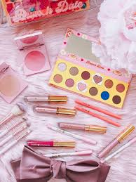 zoella x colourpop brunch date collection review