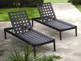 image of patio chaise lounge chairs material