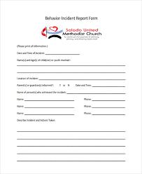 39 Free Incident Report Templates Free Premium Templates